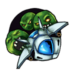 Wasabi Pea Invaders Free icon