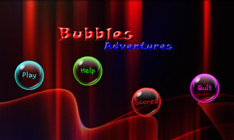 Bubbles Adventures Game- screenshot