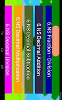Screenshot of Sixth Grade Mathematics Guru