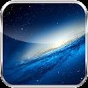 Galaxy S3 Transparent Clock icon