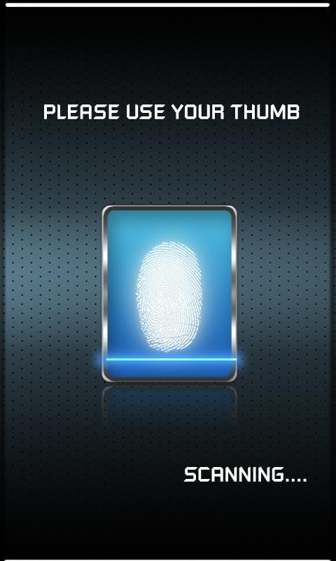 FBI FingerPrint Scanner - screenshot