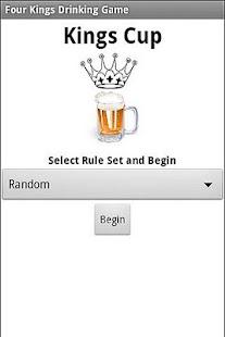 kings cup 5 card