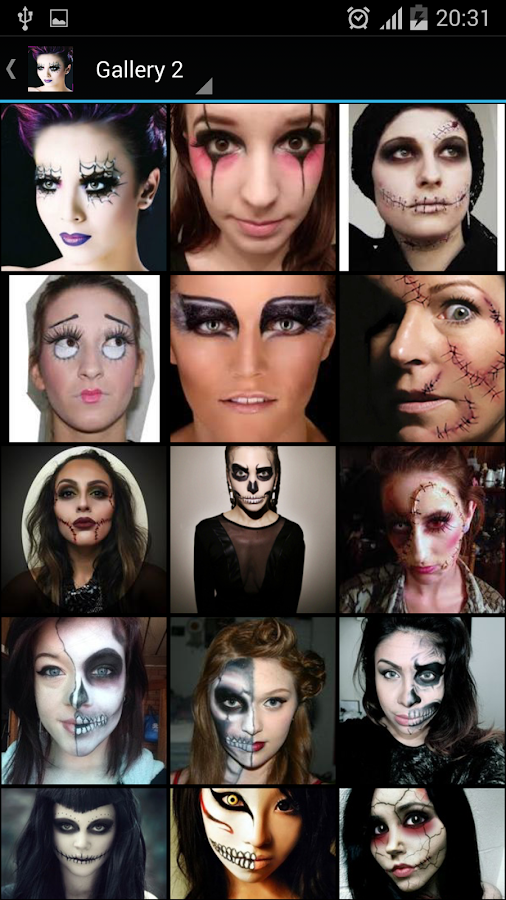 Halloween Makeup Easy Designs - Android Apps on Google Play