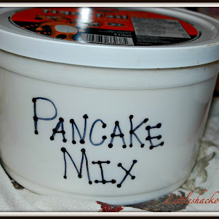 Homemade Pancake Mix.