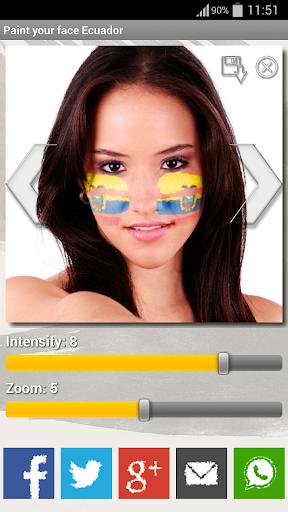 Paint your face Ecuador