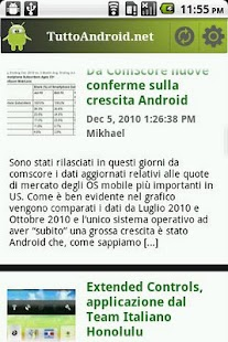 TuttoAndroid News - screenshot thumbnail