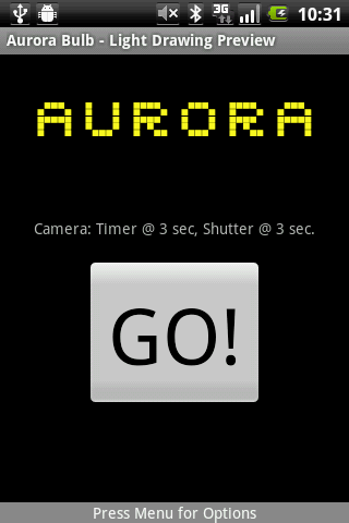 Aurora Bulb - screenshot