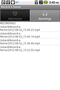 Record-a-Nome: Metronome/Rec. - screenshot thumbnail