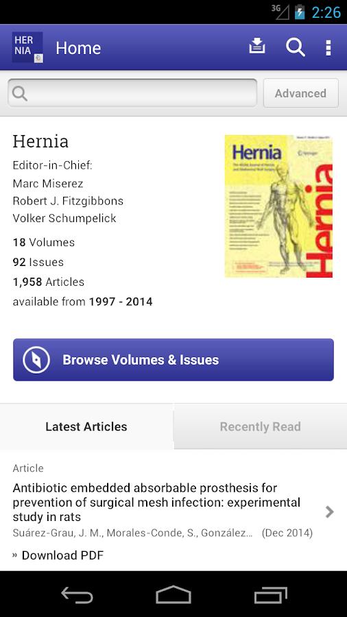 Hernia- screenshot