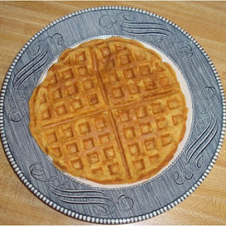 Sweet Potato Buttermilk Waffles