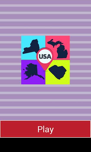玩免費益智APP|下載美国州的影子测验 app不用錢|硬是要APP