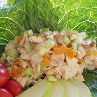 Gingery-Apricot Turkey Salad