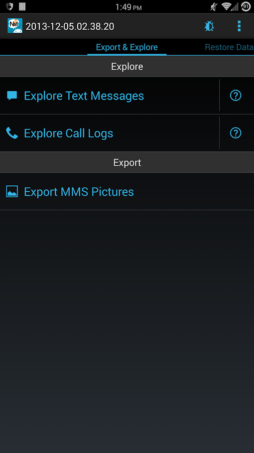 Nandroid Manager Pro - screenshot