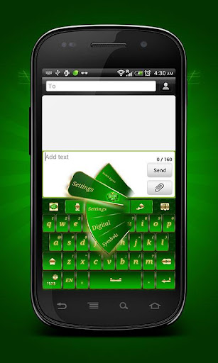 GO Keyboard St. Patrick's Day