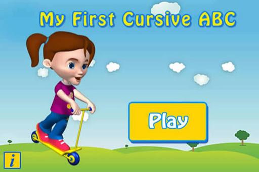 Cursive Upper Case - Autism