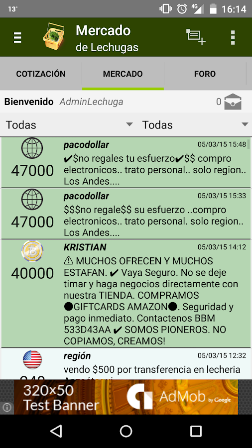 Mercado de Lechugas- screenshot