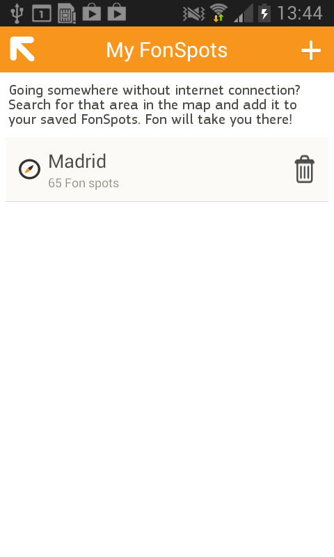 OTE Fon- screenshot