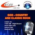 KQTE RADIO NEW logo