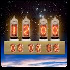 Nixie Tube Clock Widget icon
