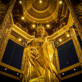 Statues of Guanyin by Eddy Tan - Buildings & Architecture Statues & Monuments ( religion, temple, statues, penang, kek lok si,  )