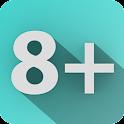 Calculator 8+ icon