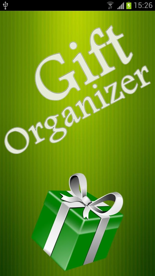 Gift Organizer - screenshot