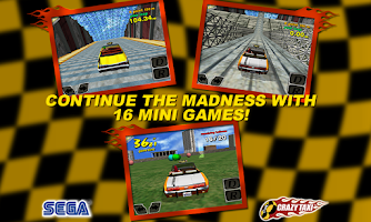 Screenshot of Crazy Taxi Classic
