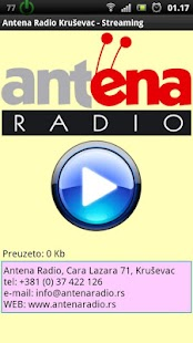 Antena Radio Krusevac - screenshot thumbnail
