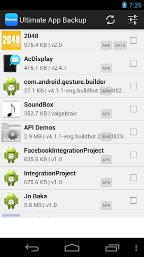 Ultimate App BackUp