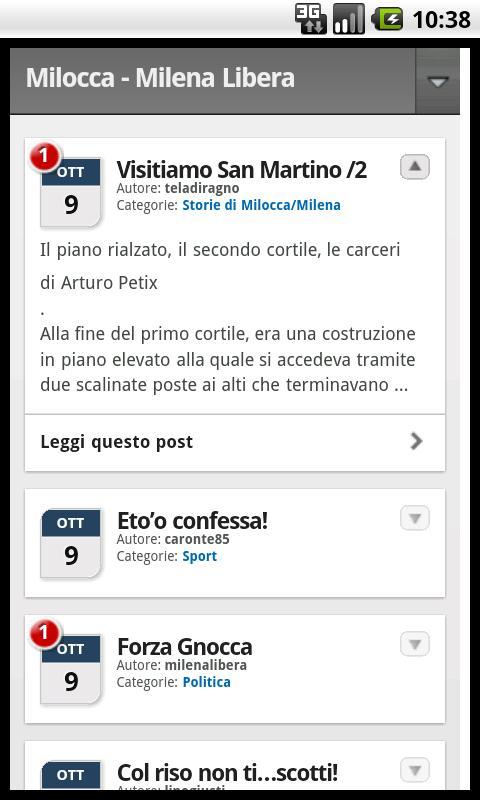 Milocca Milena Libera- screenshot