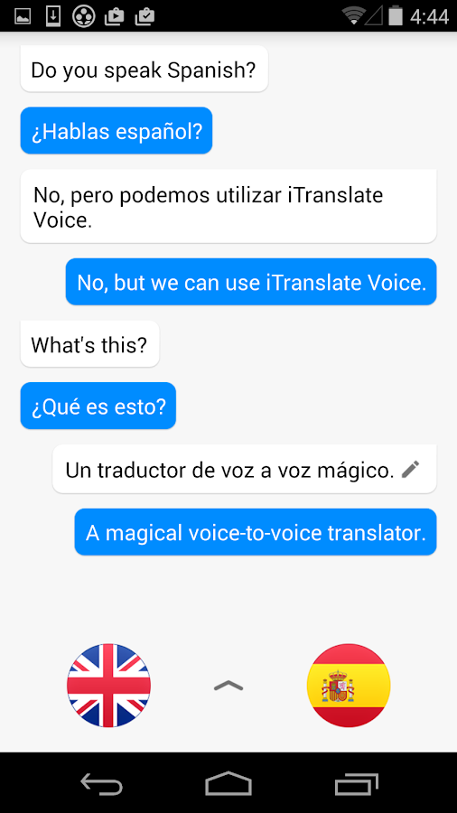 iTranslate Voice- screenshot