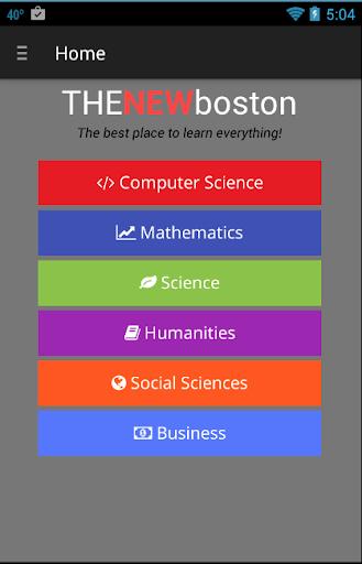 The New Boston