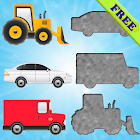 Vehicles Puzzles for Toddlers! icon