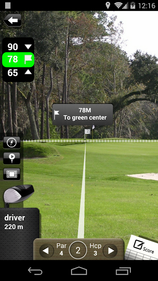 Mobitee GPS Golf Free - screenshot