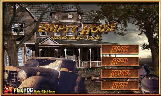 空房子隱藏對象的遊戲