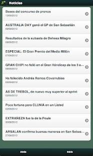 Gaceta Hipódromo- screenshot thumbnail
