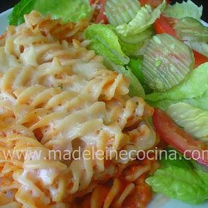 Pasta with Bechamel