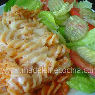Pasta with Bechamel.