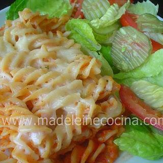 Pasta with Bechamel.