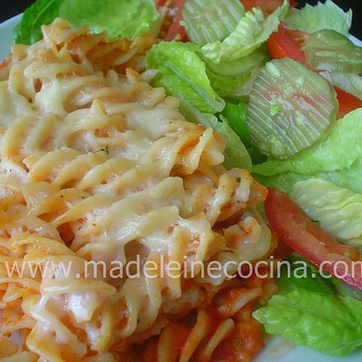Pasta with Bechamel Recipe