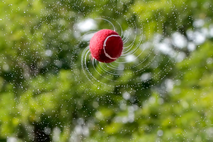 Water Galaxy by Ramakant Sharda - Artistic Objects Other Objects ( water, ball, splash, spin,  )