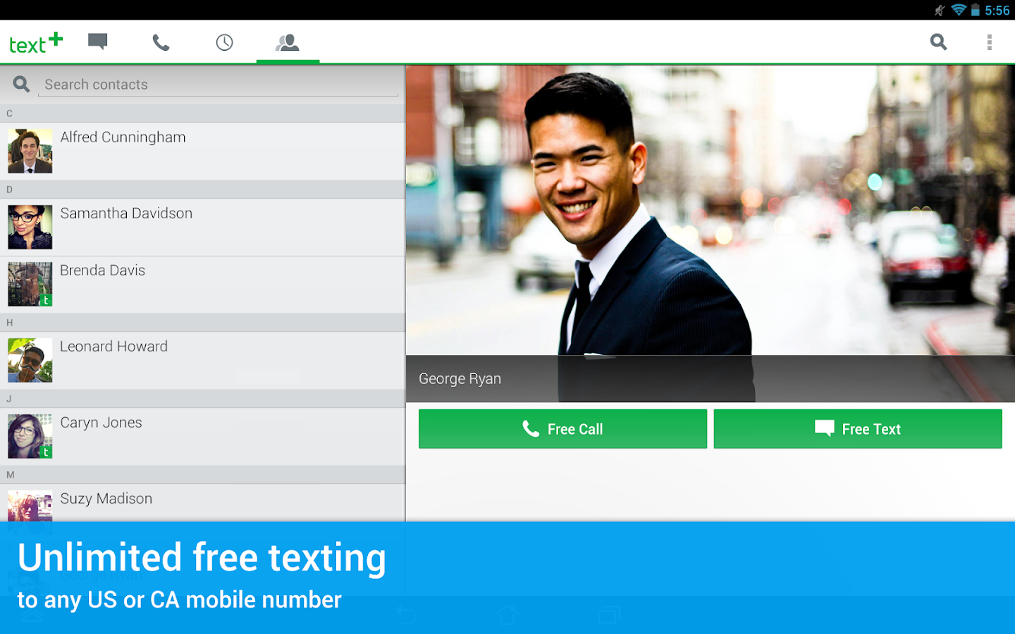 textPlus Free Text + Calls- screenshot