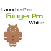 LauncherPro GingerPro White