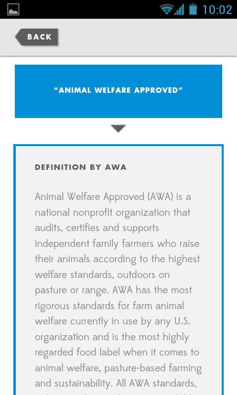 AWA Food Labels Exposed- screenshot