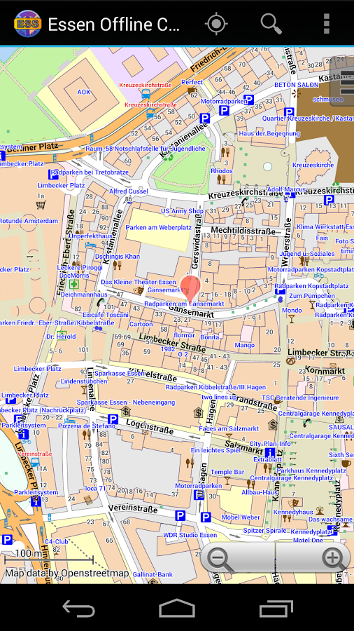 Essen Offline City Map- screenshot
