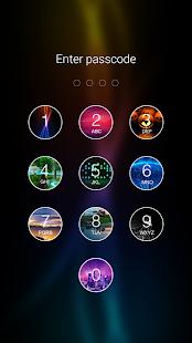 1 Photo Keypad Lock Screen App screenshot