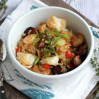 Seafood and Sausage Jambalaya