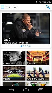 eventseeker - events, concerts - screenshot thumbnail