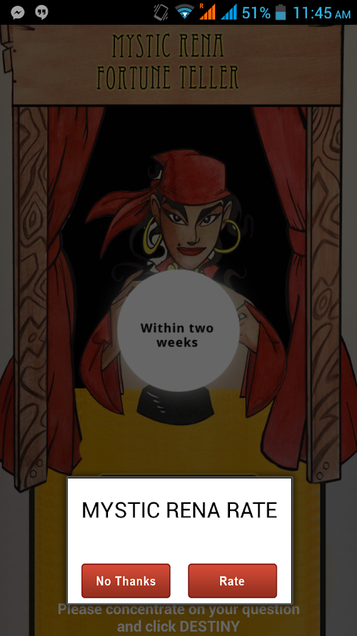 Fortune Teller Mystic Rena- screenshot