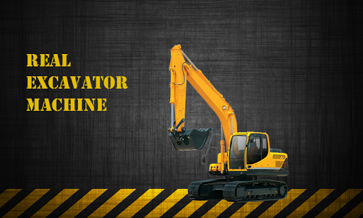 Real Excavator Machine